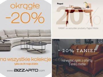 20% Rabatu na wszystkie kolekcje!